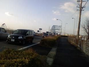 河合小橋の看板