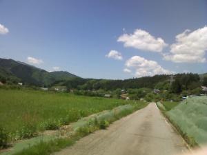 畑と空と緑と